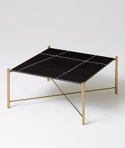 BLACK GOLD SOFA TABLE