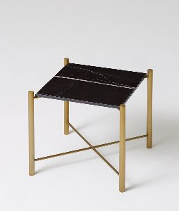 BLACK GOLD SIDE TABLE