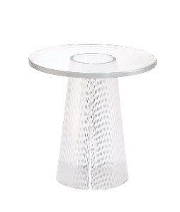 BENT SIDE TABLE HIGH